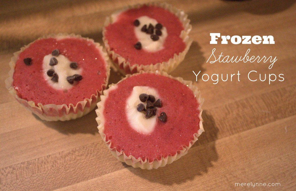 frozen yogurt cups