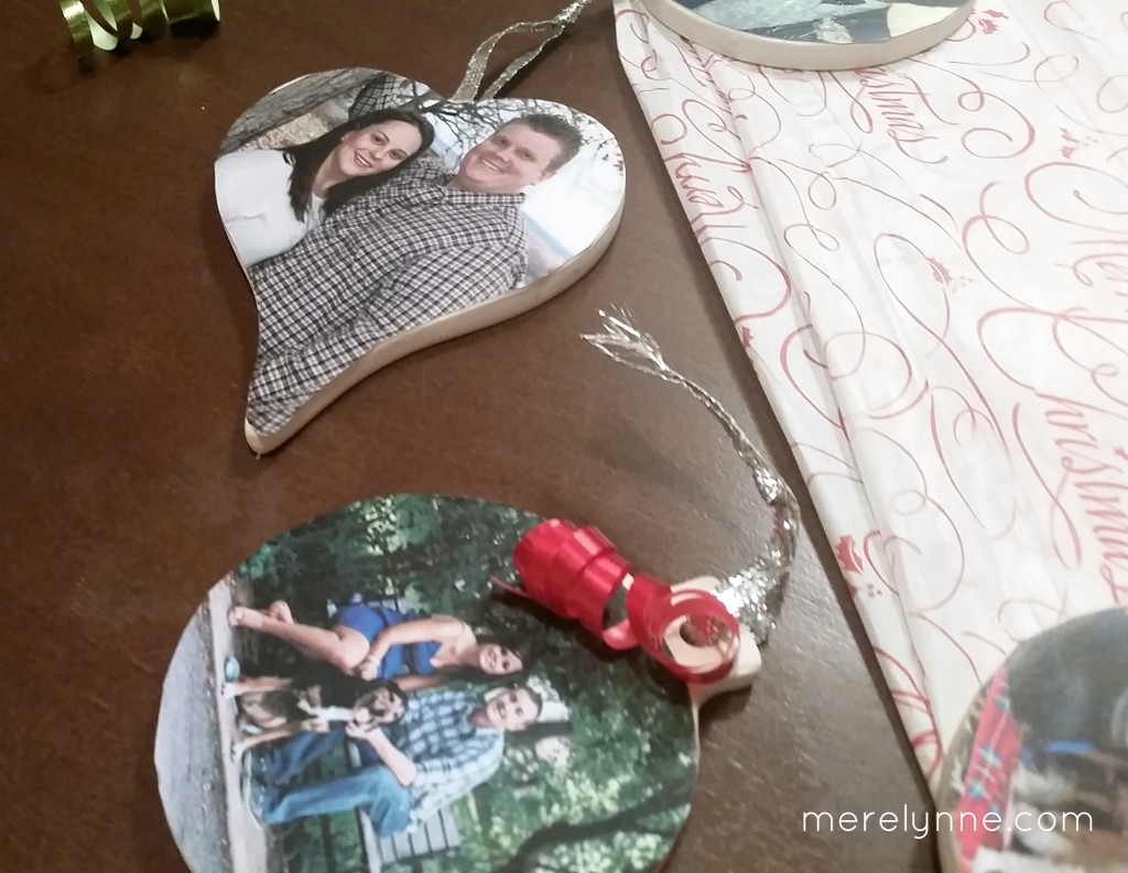 DIY Christmas photo ornament how to
