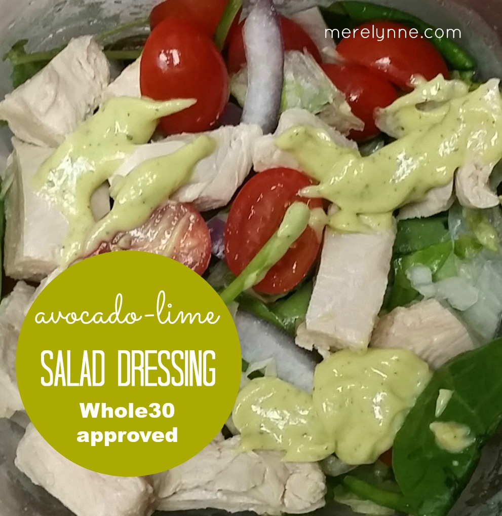 avocado salad dressing, whole30 approved salad dressing, whole30 recipe
