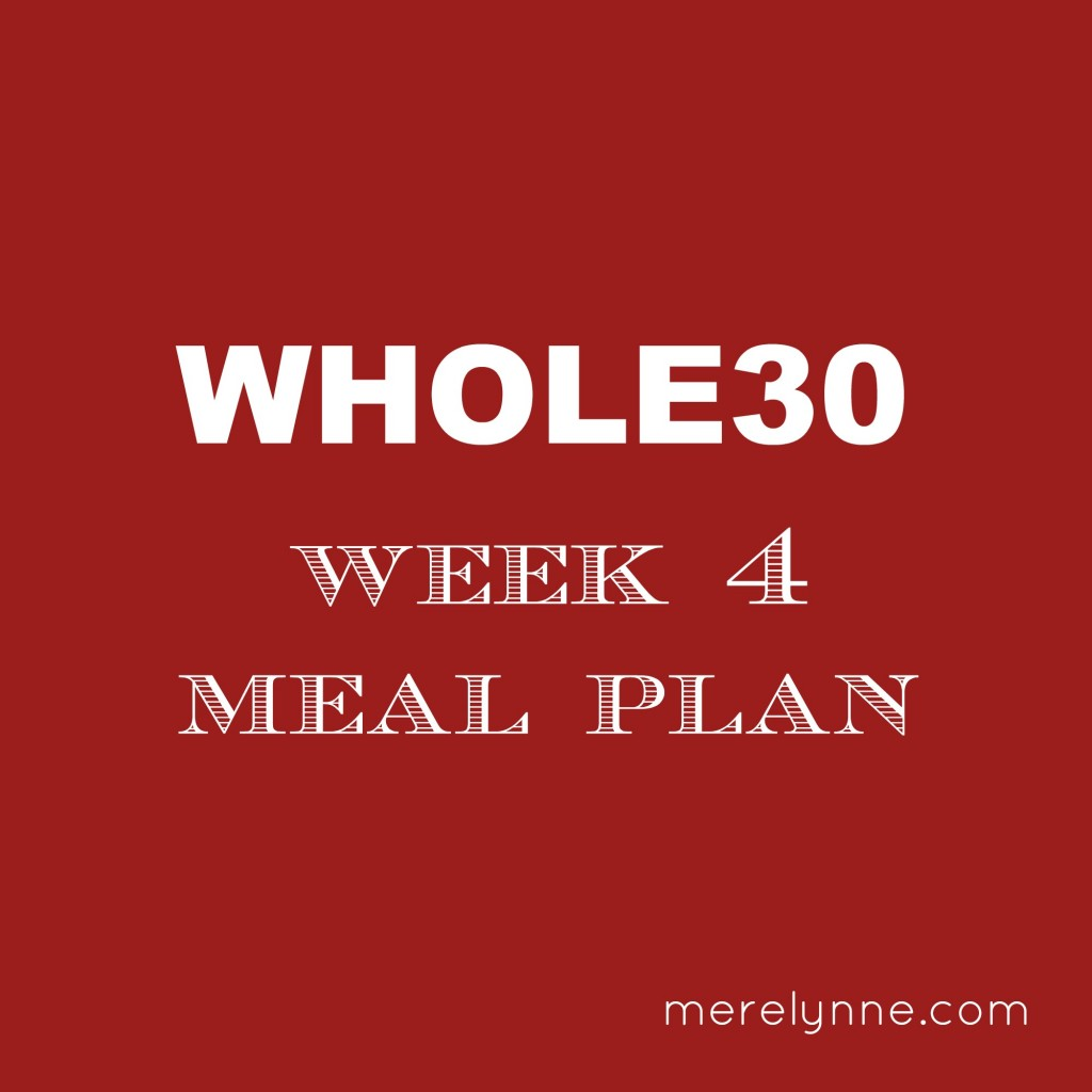 whole30 meal plan