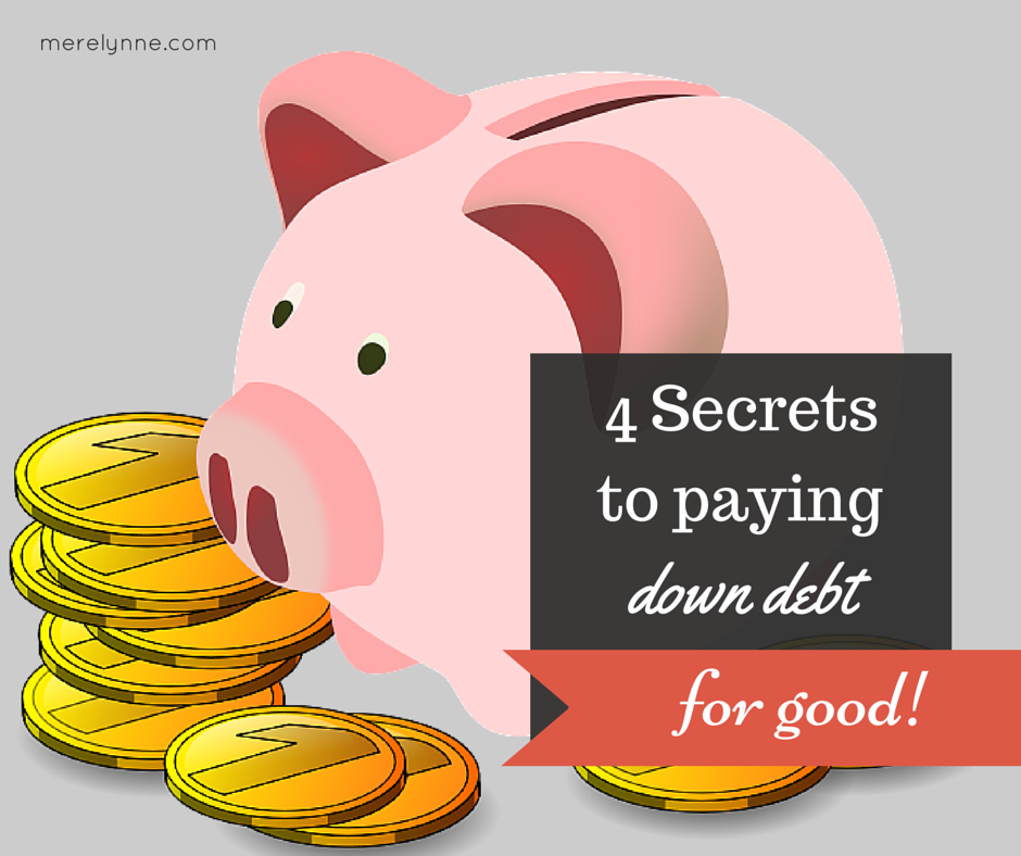 secrets to paying down debt, how to pay down debt