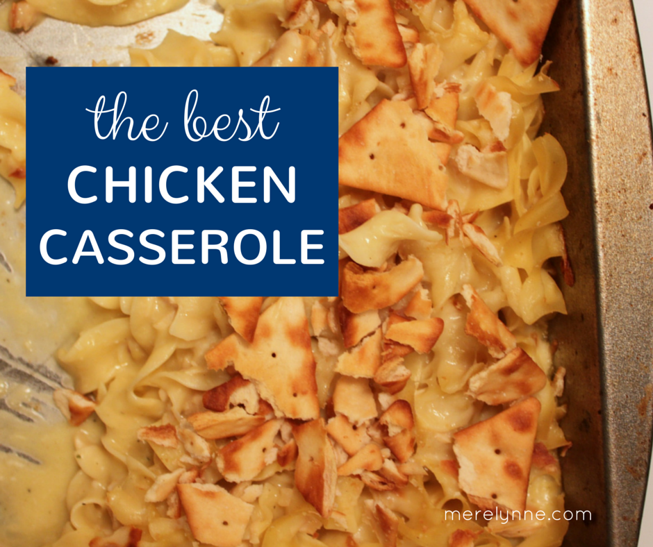 the best chicken casserole recipe