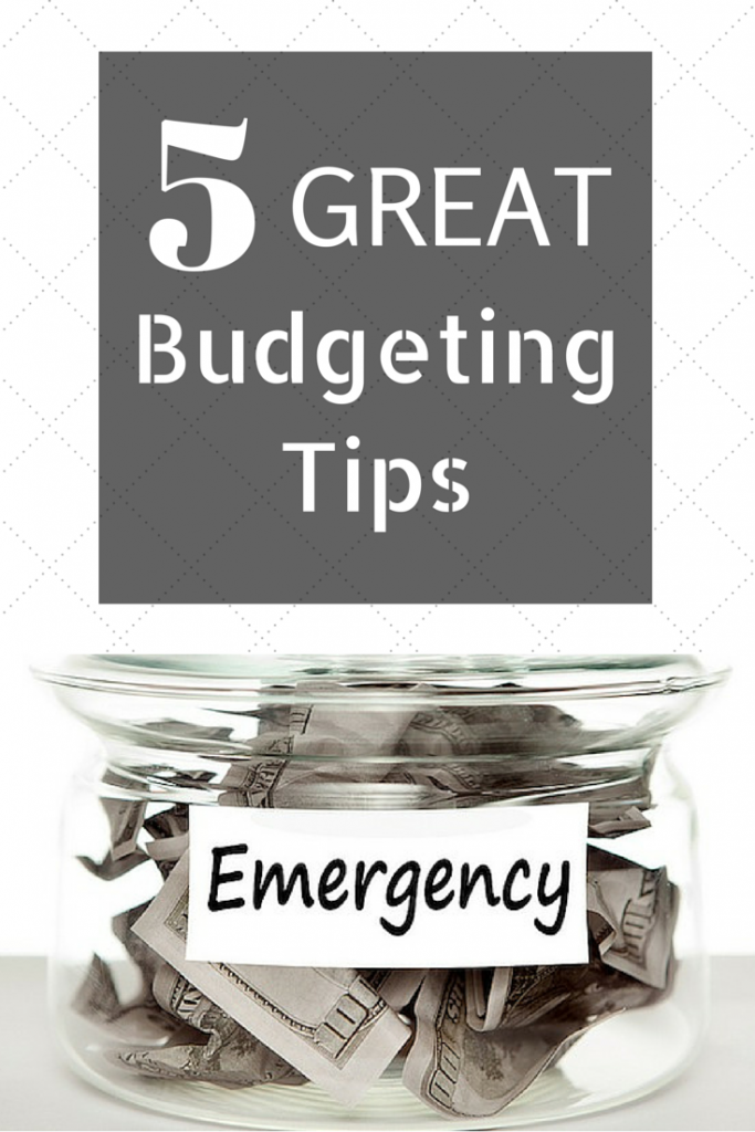 5 great budgeting tips