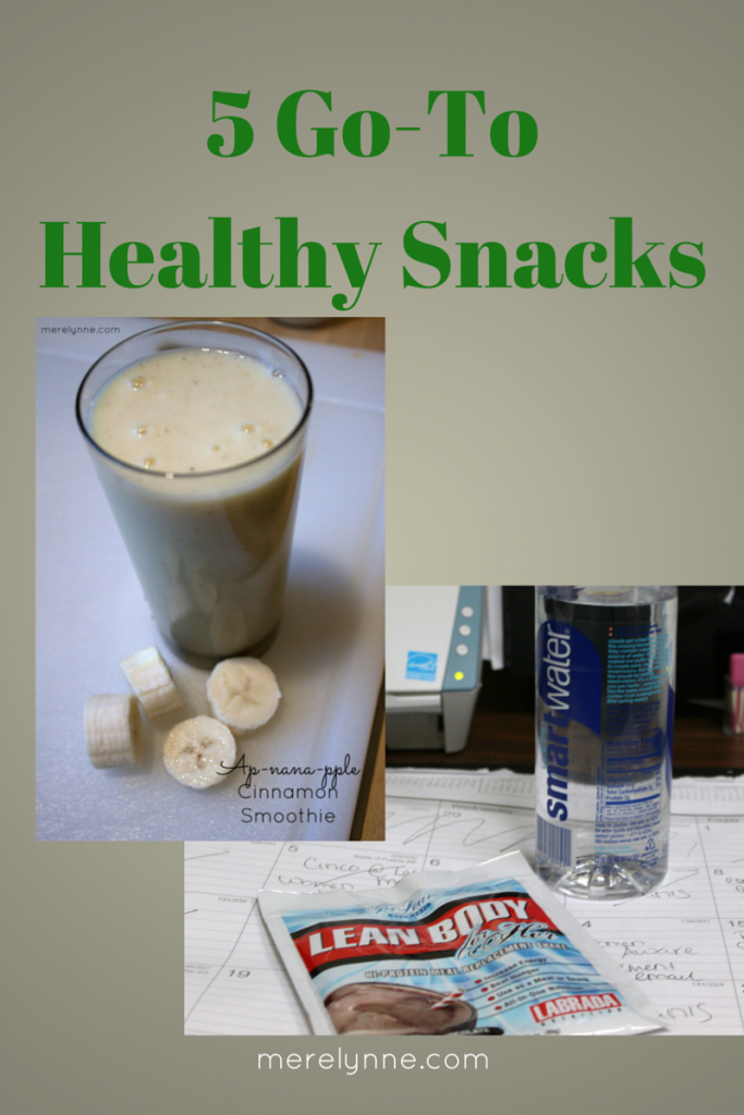 5 Go-To Healthy Snacks