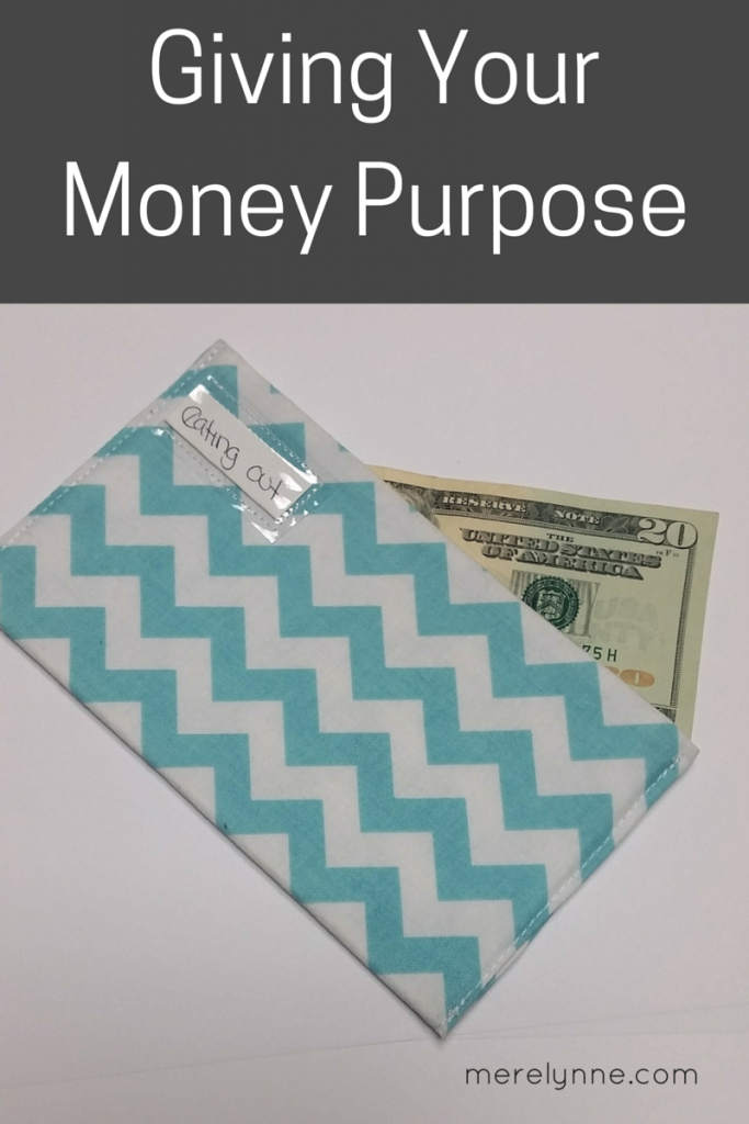 Giving Your Money Purpose