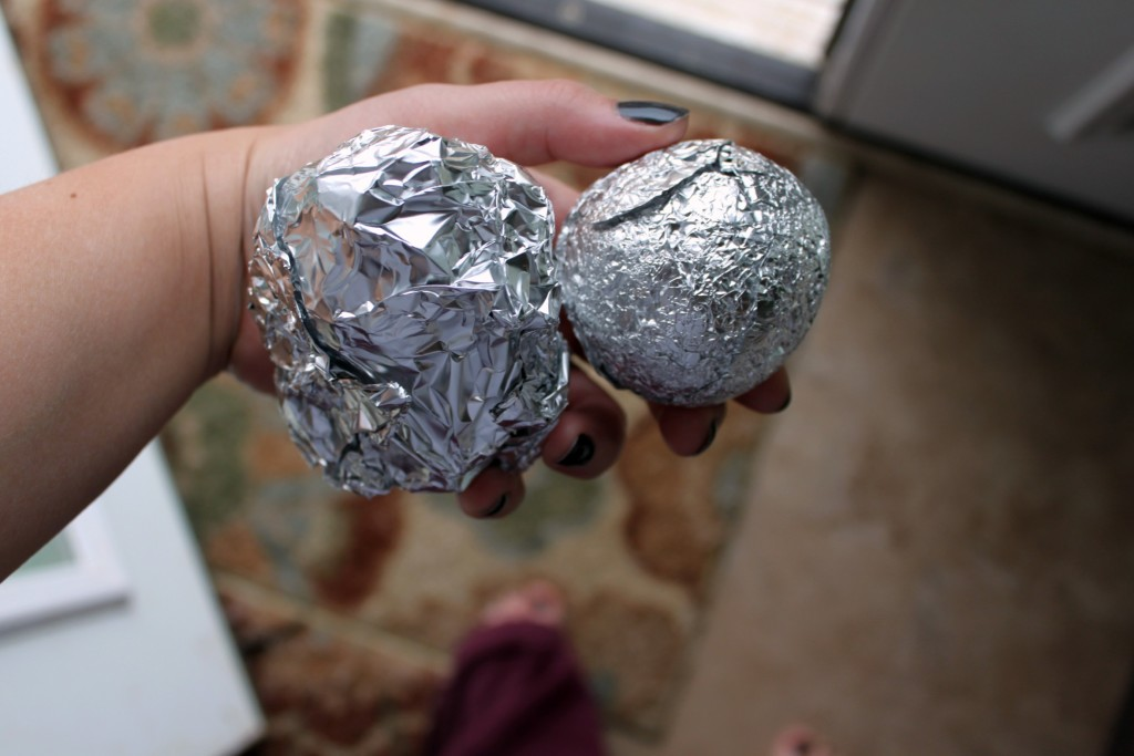DIY Dryer Foil Balls