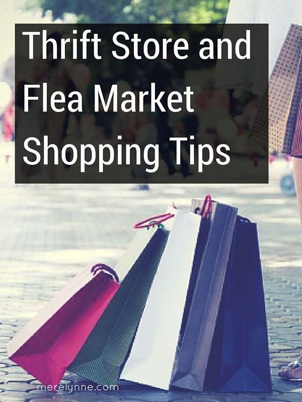 Thrift Store and Flea Market Shopping Tips