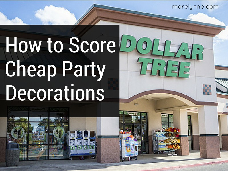 How to Score Cheap Party Decorations