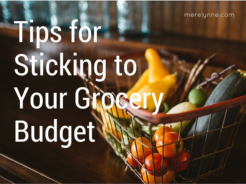 Tips for Sticking to Your Grocery Budget