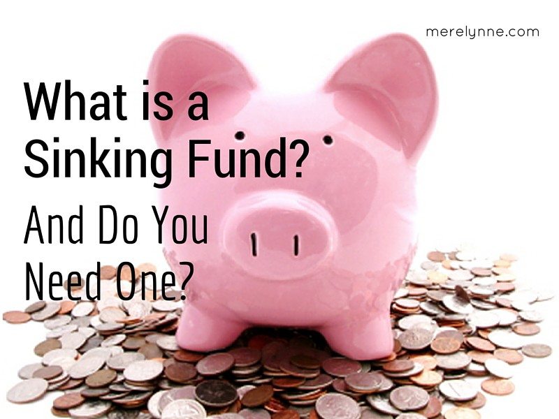 What is a sinking fund
