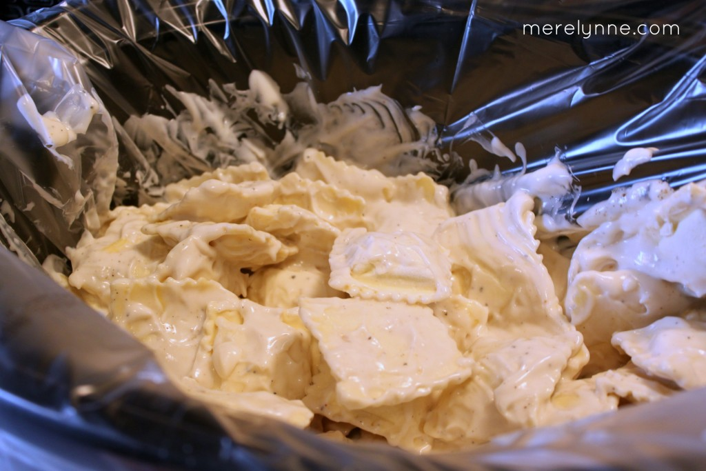 slow cooker ravioli recipe