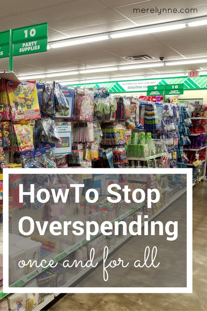 HowTo Stop Overspending