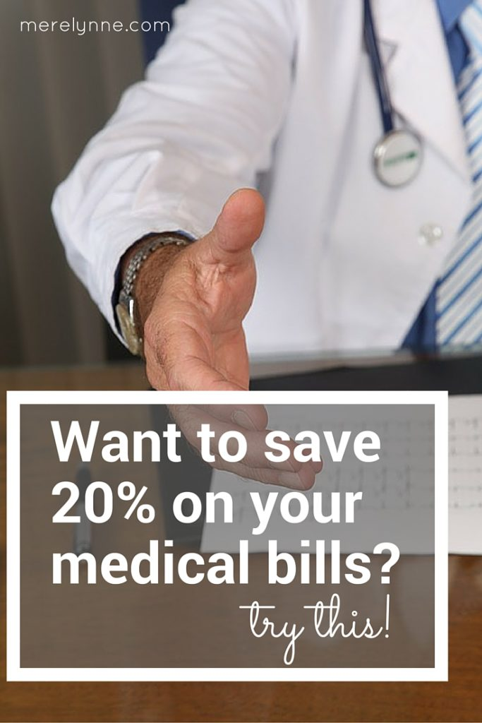 save money on your medical bills