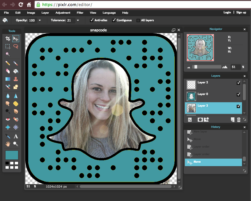 personalize snapcode