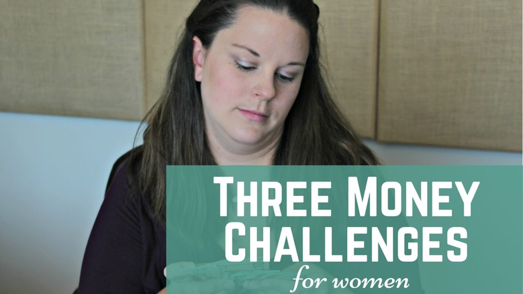 money challenges for women