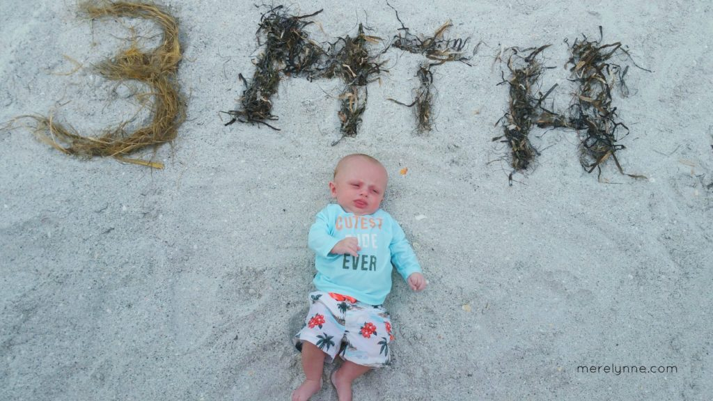 merelynne.com, meredith rines, baby on beach, beach hacks for baby