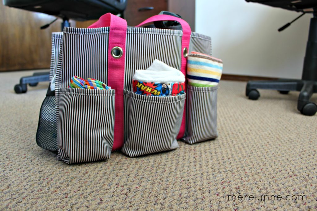 What's In My Diaper Bag, thirty-one bag