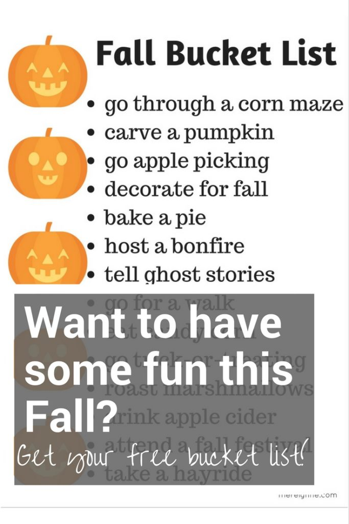 fall bucket list, things to do in the fall