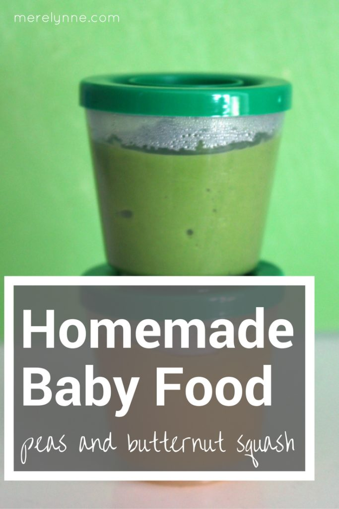 homemade baby food, peas baby food, butternut squash baby food, baby food making