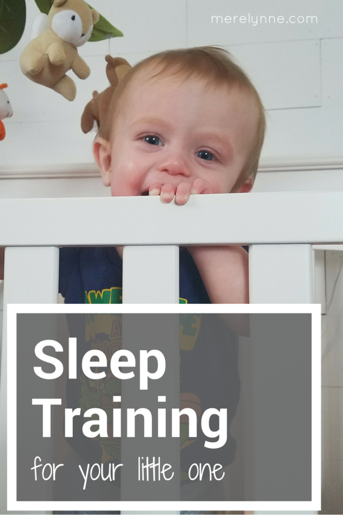 sleep training your baby, getting your baby to sleep through the night