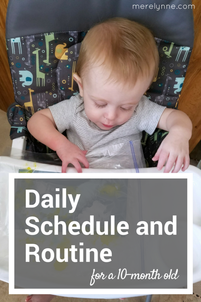 daily routine for baby, daily schedule for baby, daily schedule for 10 month old