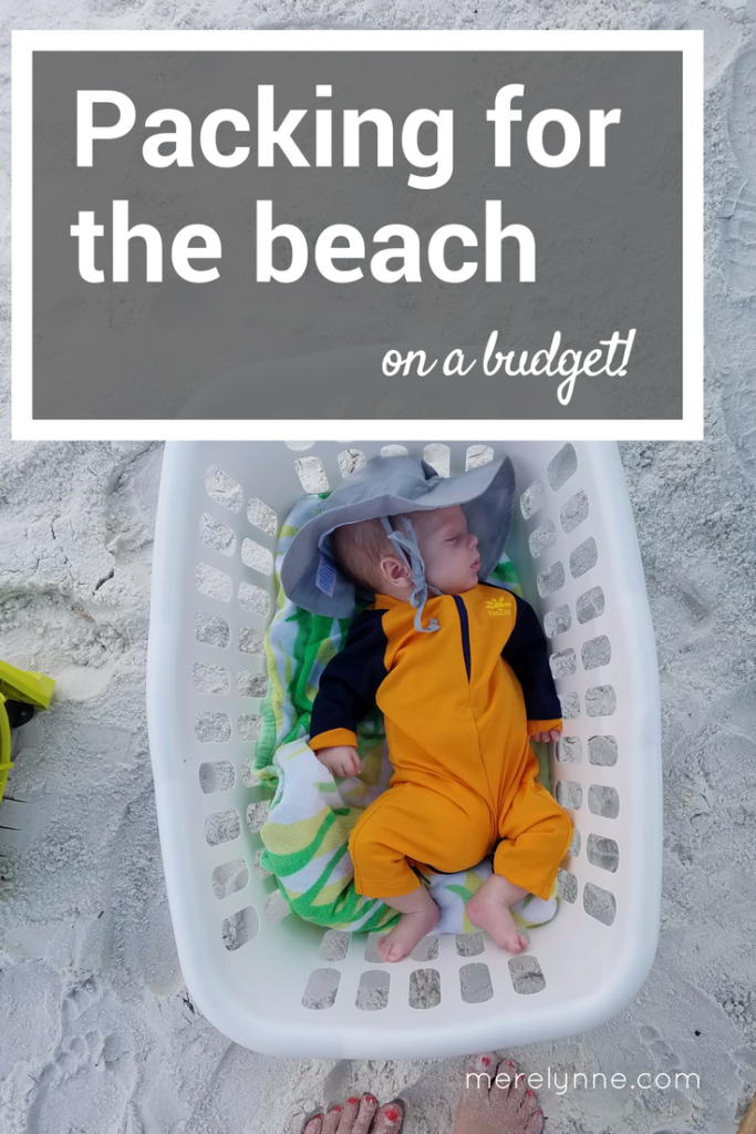 packing for the beach on a budget