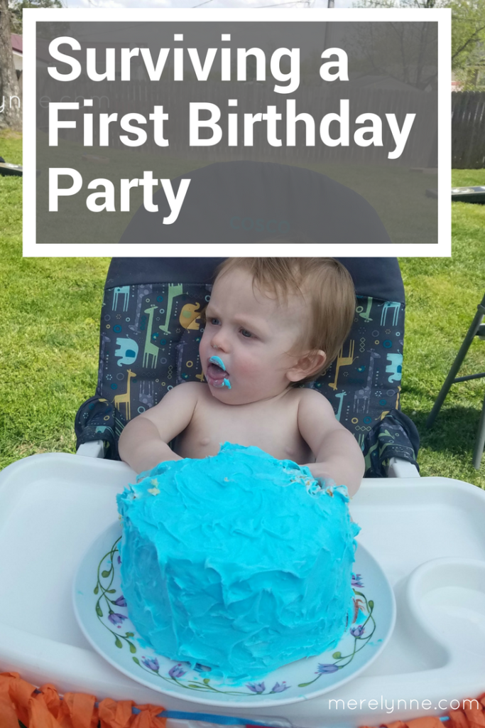 How to recover from your kid 39 s first birthday party for Fishing first birthday