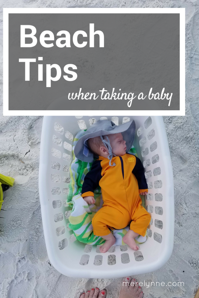 beach tips for baby, baby beach tips, taking newborn to beach