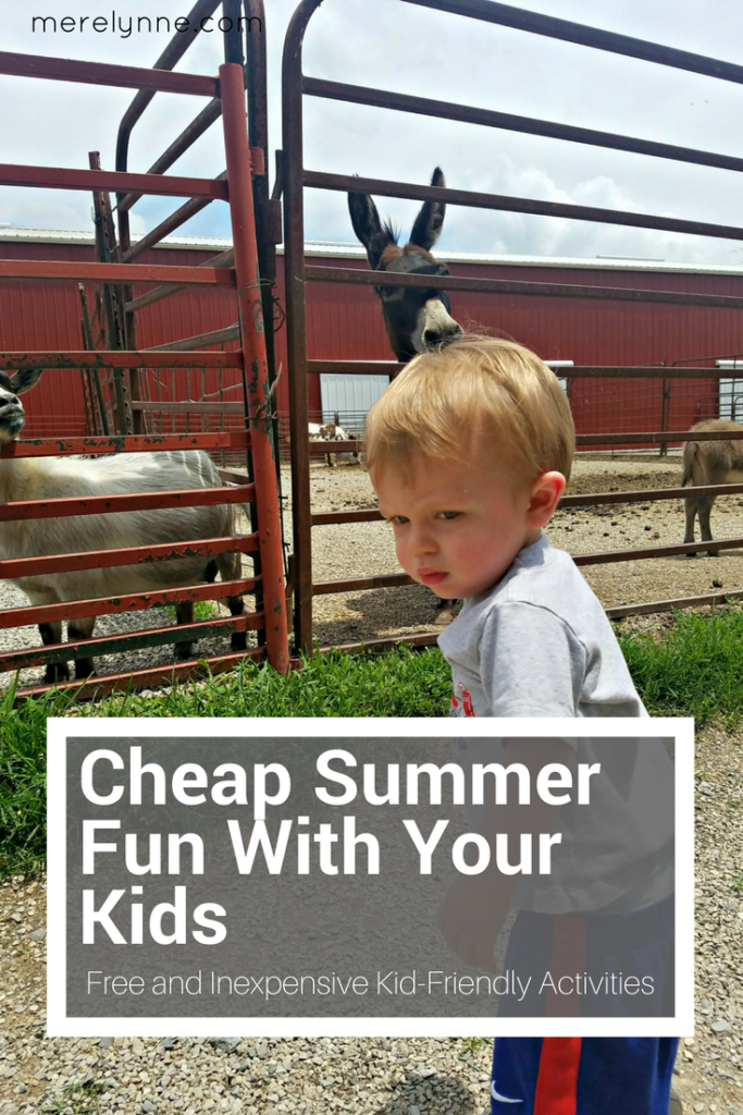 cheap summer fun, ways to have cheap fun with toddlers, summer with toddlers, activities to do with kids, free things to do with toddlers