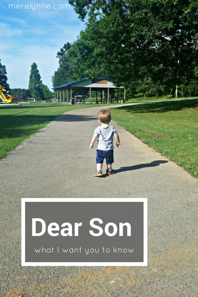 dear son, what i want you to know