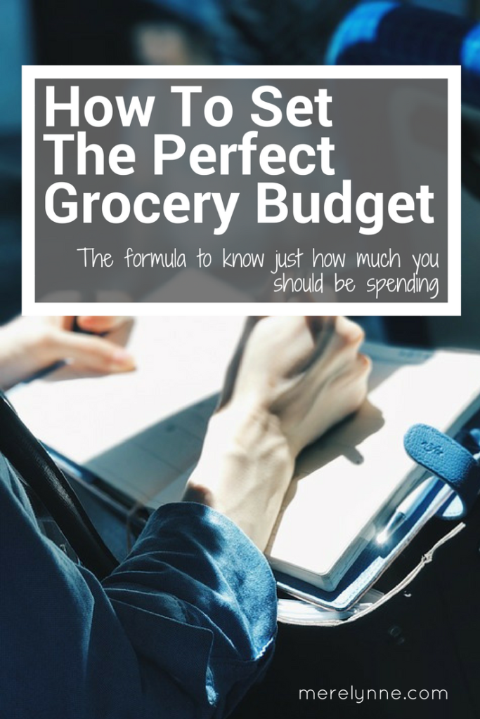 How To Set The Perfect Grocery Budget, how to set your budget, grocery budget help