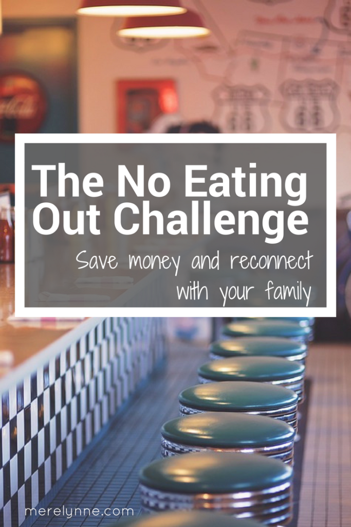 no eating out challenge, eat at home more, meal planning, spending freeze, how to do a spending freeze