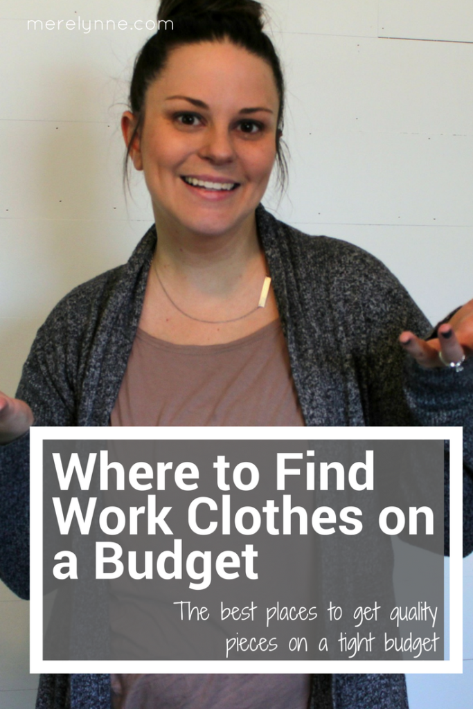 Where to Find Work Clothes on a Budget, clothes on a budget, career clothes, budget work clothes, clothes for the office,