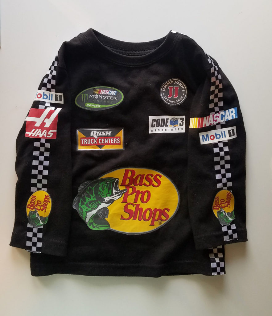 Diy Nascar Costume For A Toddler Meredith Rines