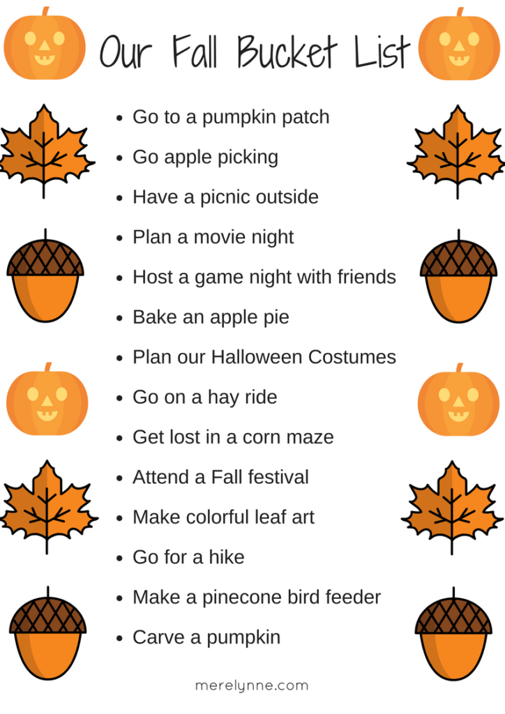 fall bucket list, fun activities, fall activities, things to do with family, toddler fun, things to do with a toddler, fall ideas with a toddler, meredith rines, merelynne