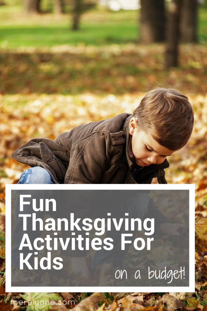 fun activities for kids, thanksgiving fun for kids, keeping kids entertained, free activities for kids, meredith rines, merelynne, thanksgiving activities for kids