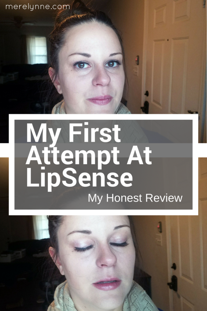 lipsense, trying lipsense, lipsense review, lipsense makeup, meredith rines, merelynne, makeup review