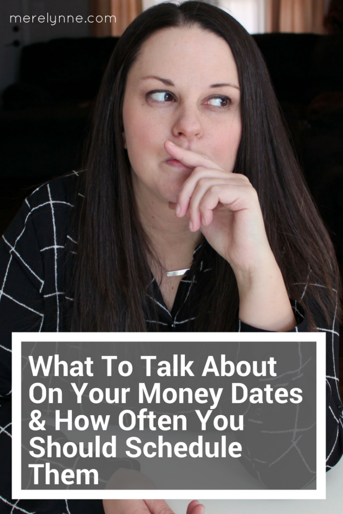 money dates, talk about on money dates, talk money with your spouse, money help, meredith rines, merelynne