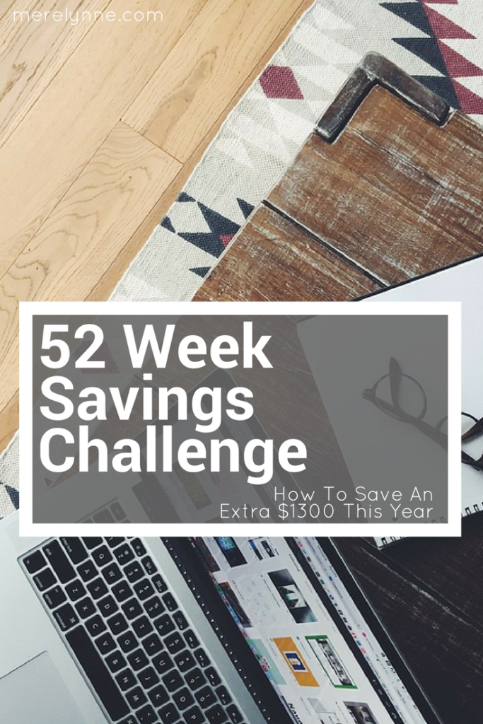 savings challenge, 52 week savings challenge, money challenge, how to save more, save more faster, meredith rines, merelynne