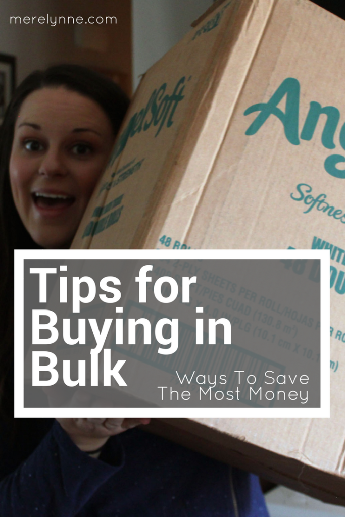 tips for buying in bulk, meredith rines, merelynne, buying in bulk, sams club, costco