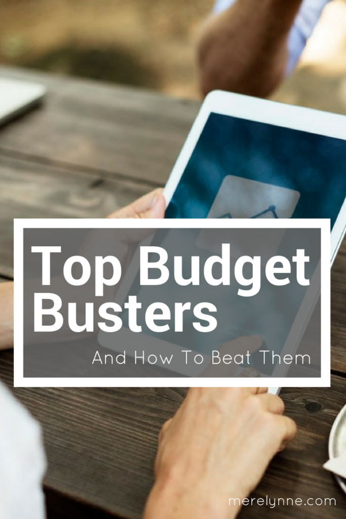top budget busters, budget busters, how to beat budget busters, budget help, meredith rines, merelynne
