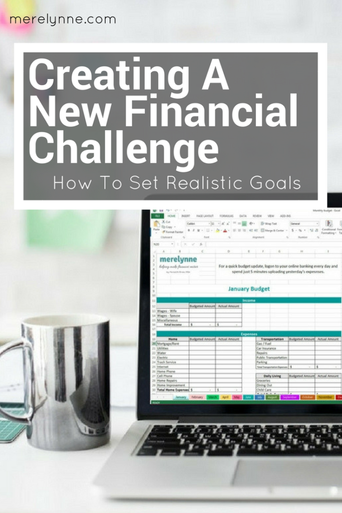 creating new financial goals, focus on finances, realistic financial goals, meredith rines, merelynne