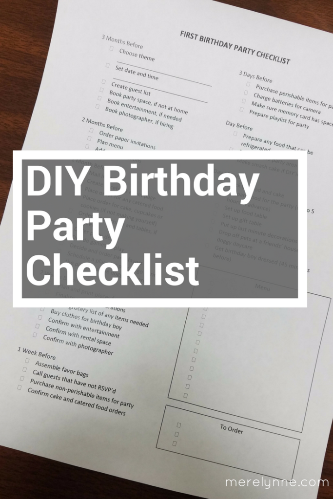 diy gone fishing birthday party free planning checklist meredith